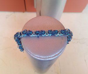 Braccialetto-trizantina-blu-e-azzurra-dettaglio