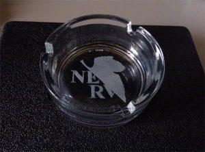 incisione vetro: Posacenere nerv