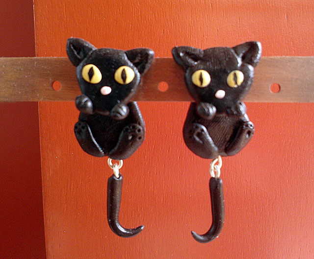 orecchini gatto