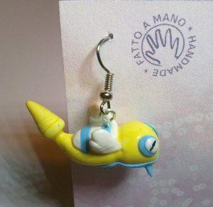 orecchini pokemon-dunsparce