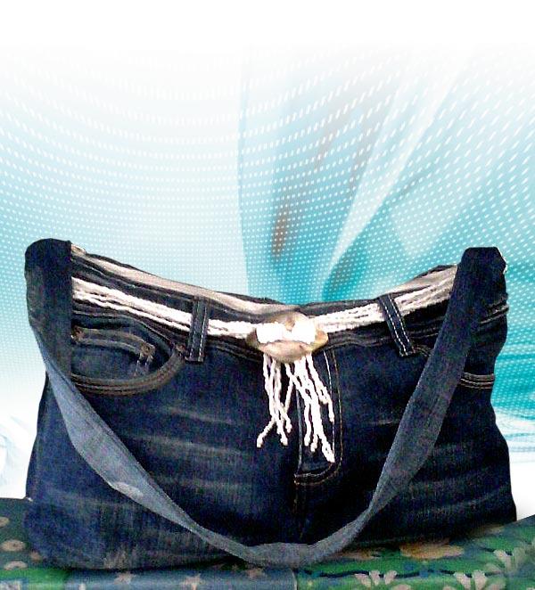 borsa con jeans