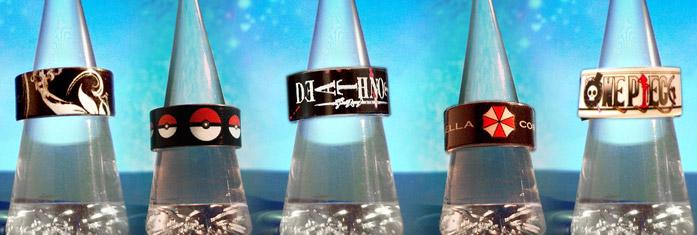 anelli personalizzati in resina