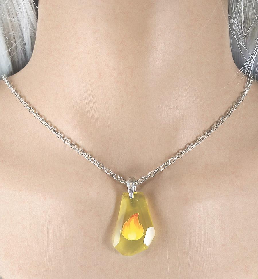 collana pietra focaia pokemon
