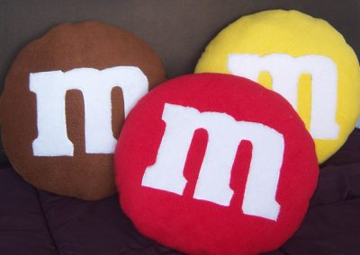 Cuscino M&M's