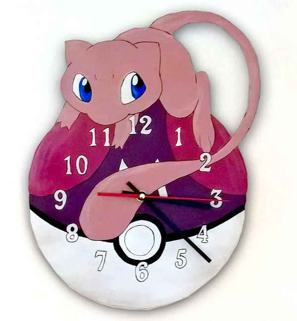 orologio da parete pokemon mew