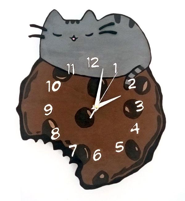orologio da parete gatto pusheen